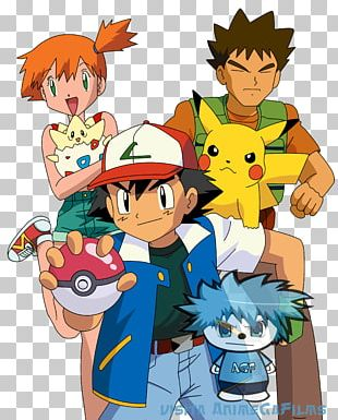 Pokémon X And Y Ash Ketchum Misty Pikachu PNG