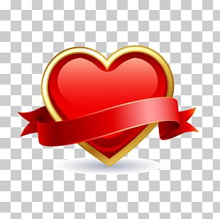 Valentines Day Heart February 14 Romance Gift PNG