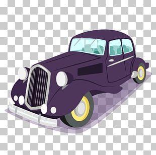 Vintage Car Pontofrio PNG