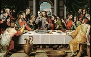 Eucharist Last Supper Christianity Mass Catholic Church PNG