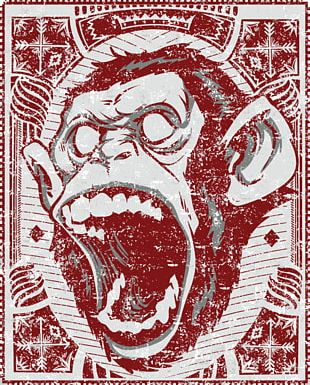 Chimpanzee Ape Primate Gorilla The Evil Monkey PNG