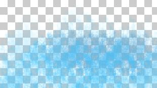 Blue Sky Turquoise Pattern PNG