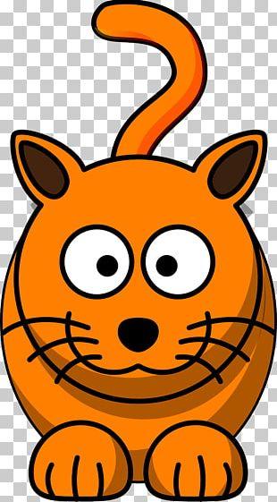 Cat Kitten Cartoon PNG