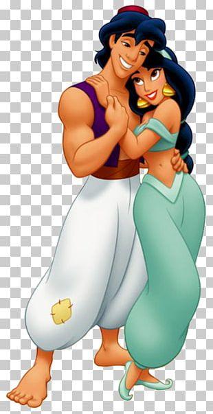 Princess Jasmine Aladdin Genie Rapunzel A Whole New World PNG