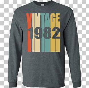 T-shirt Birthday Gift Retro Style PNG