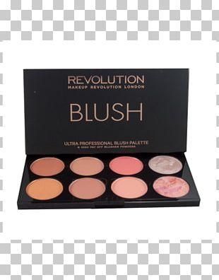 Face Powder Eye Shadow Cosmetics Rouge Makeup Revolution Blush Palette PNG