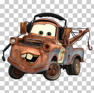 Mater Lightning McQueen Cars 2 Pixar PNG