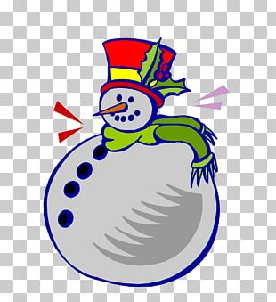 Snowman Scarf Winter PNG