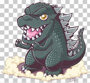 Godzilla Junior Drawing Chibi King Kong PNG