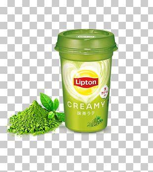 Matcha Green Tea Milk Latte PNG