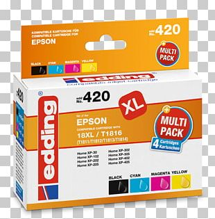 Ink Cartridge Hewlett-Packard Edding Inktpatroon Office Supplies PNG