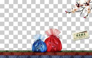 Wallet Handbag Red PNG