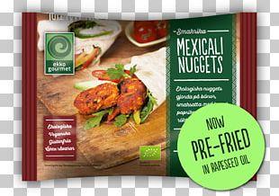 Chicken Nugget Gourmet Frying Vegetarian Cuisine Recipe PNG