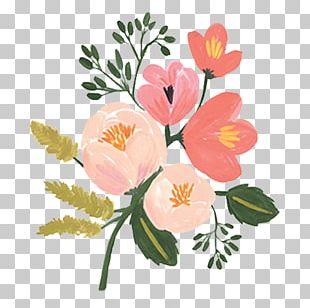 Rifle Paper Co Flower Wedding Invitation Floral Design PNG