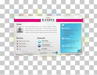 Paper Responsive Web Design VCard Template Web Page PNG