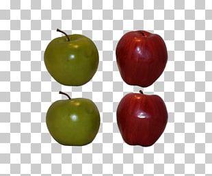 Manzana Verde Apple Fruit PNG