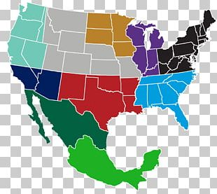 Mexico–United States Border Blank Map American Civil War PNG