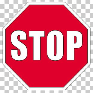 Stop Sign Red Traffic Sign Signaalkleur PNG
