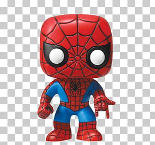 Spider-Man Funko Action & Toy Figures Bobblehead Marvel Comics PNG