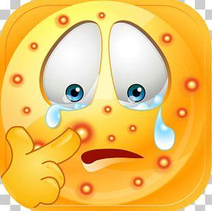 Pimple Acne Emoji Emoticon Smiley PNG