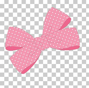 Pink Ribbon Bow Tie PNG