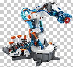 Robotic Arm Robotics Hydraulics PNG