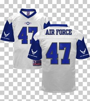 United States Air Force Academy Air Force Falcons Football T-shirt Sports Fan Jersey PNG
