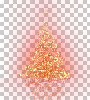 Christmas Tree Light Neon Sign PNG