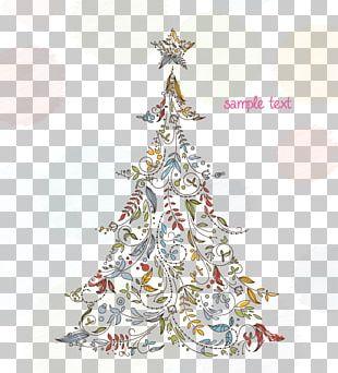 Christmas Tree Christmas Card Screensaver PNG