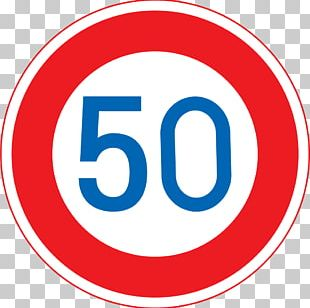 Japan Traffic Sign Speed Limit Road PNG