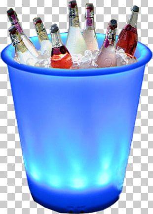 Champagne Bottle Bucket PNG