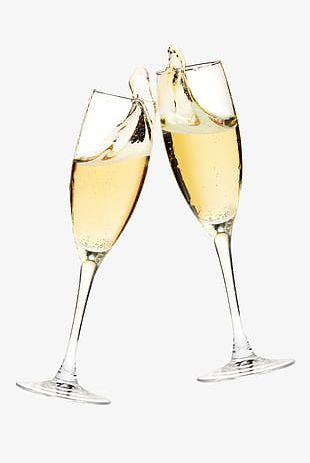 Free Champagne Toast Glass Pull S PNG