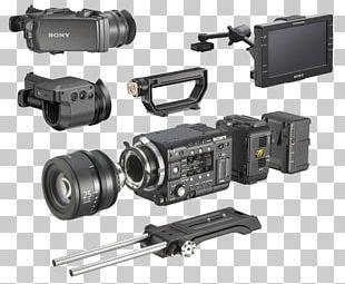 Video Cameras Digital Cameras Super 35 Sony CineAlta PMW-F55 PNG