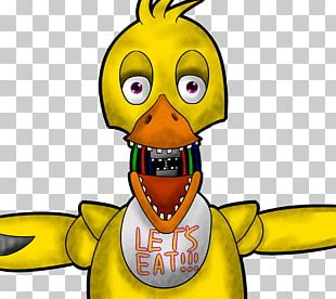 Duck Five Nights At Freddy's 2 Five Nights At Freddy's: Sister Location Drawing Animatronics PNG