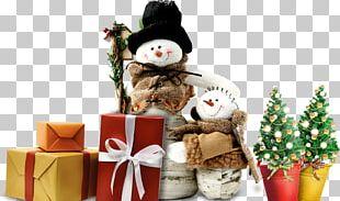 Snowman Christmas Winter PNG