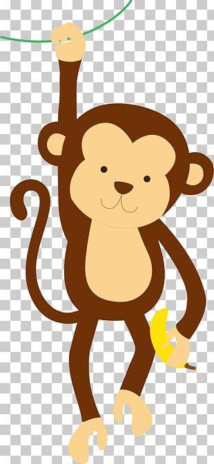 Giraffe Pony Monkey Cuteness PNG