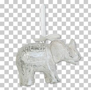 Gold Star Ornament Balizen Home Store Ubud Indian Elephant Silver Christmas Ornament PNG