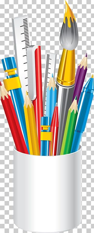 School Supplies Colored Pencil PNG