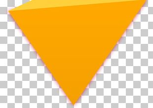 Triangle Yellow Pattern PNG