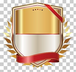 Paper Gold Ribbon PNG