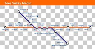 Rapid Transit Train Rail Transport Teesside Airport Railway Station Tees Valley Metro PNG
