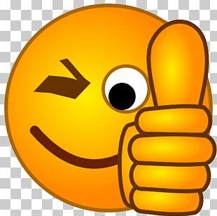 Thumb Signal Emoji Smiley PNG