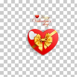 Valentines Day Gift Decorative Box Heart PNG