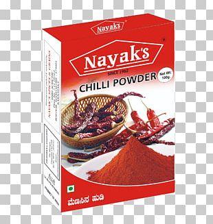 Chili Powder Chili Pepper Spice Food Seasoning PNG