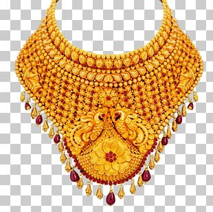 Jewellery Necklace Gold Choker Jewelry Design PNG