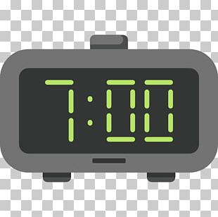 Alarm Clock Scalable Graphics Timer Digital Clock Icon PNG