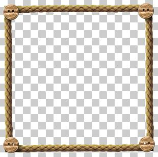 Borders And Frames Rope Frames PNG