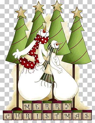 Snowman Christmas Ded Moroz PNG