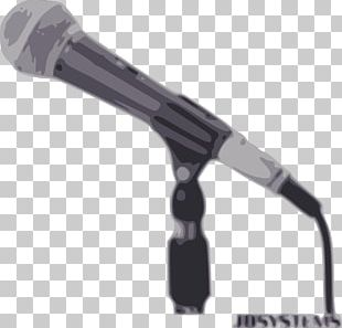 Wireless Microphone Microphone Stand PNG