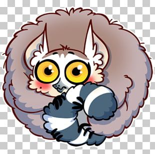 Lemur Sticker Telegram Mac App Store PNG